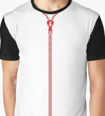 zip Graphic T-Shirt