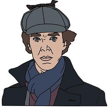 Sherlock, Benedict Cumberbatch by thrinny