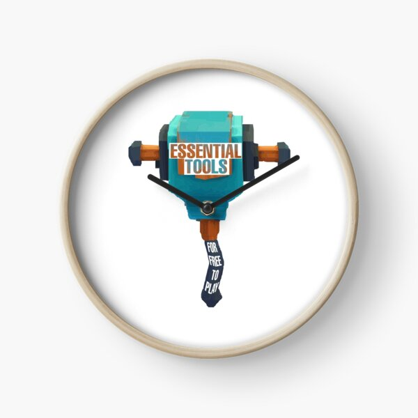 Overlook Bay Drill Tools Clock
