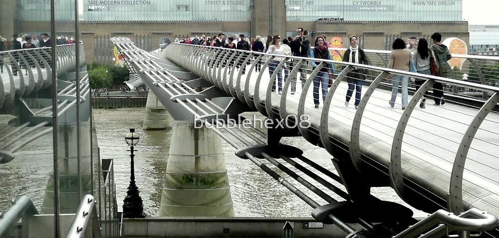 Millennium Bridge, London by bubblehex08