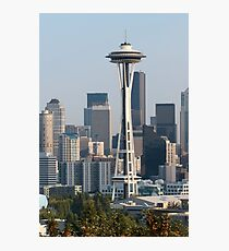 Space Needle and Seattle Photographic Print