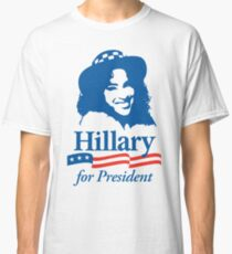 Hillary For President - Red White & Blue Classic T-Shirt