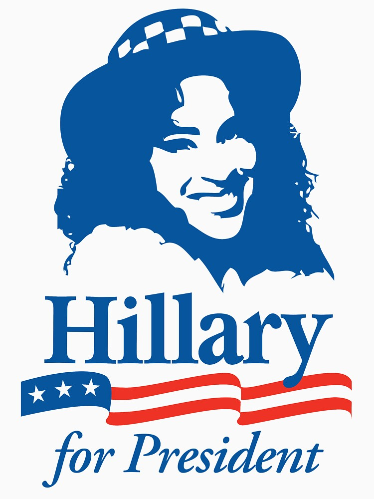 Hillary For President - Red White & Blue by acllavore
