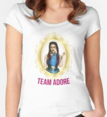 Rupaul's Drag Race All Stars 2 Team Adore Delano Women's Fitted Scoop T-Shirt