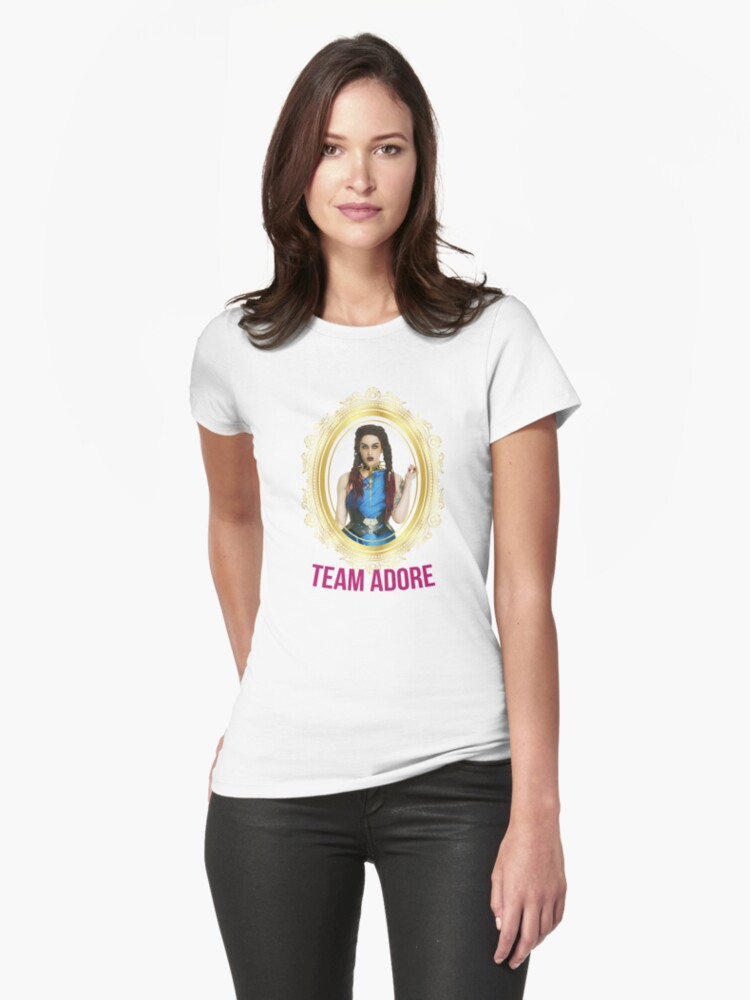 Rupaul's Drag Race All Stars 2 Team Adore Delano Womens T-Shirt Front