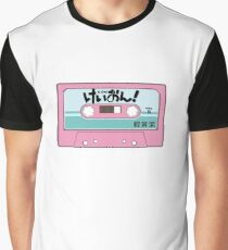 K-On! Cassette Design Graphic T-Shirt