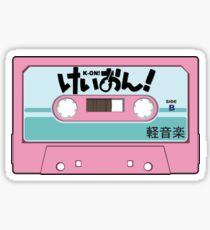 K-On! Cassette Design Sticker