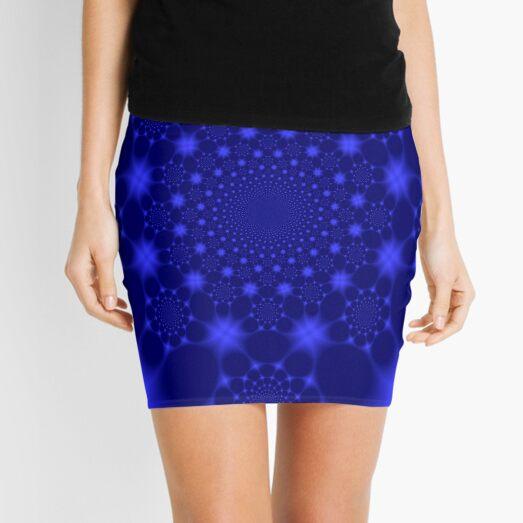 Dazzling Blue Mini Skirt