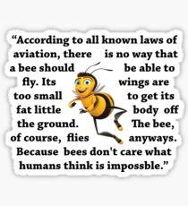 Bee Movie  Sticker
