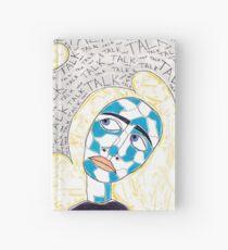 Talk, Talk, Talk Hardcover Journal