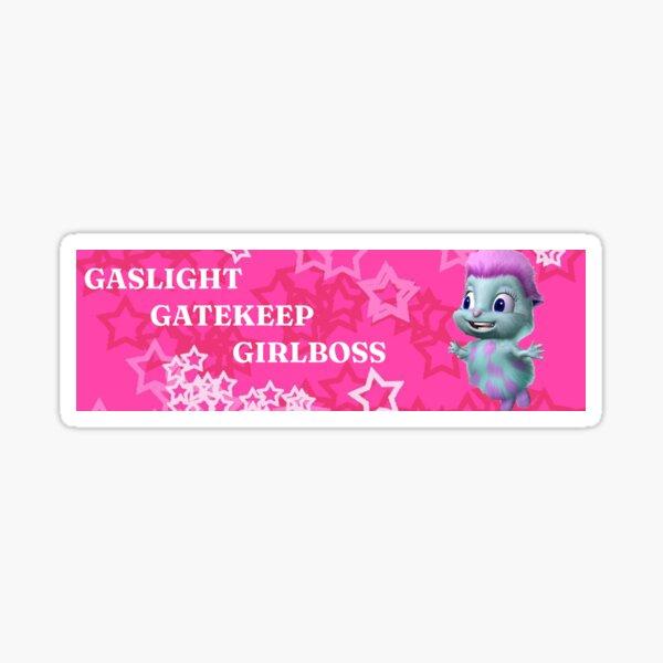 Bibble the girlboss Sticker