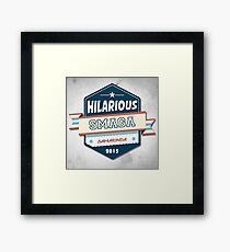 Hilarious pt2 Framed Print
