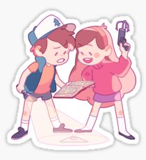 mystery twins Sticker