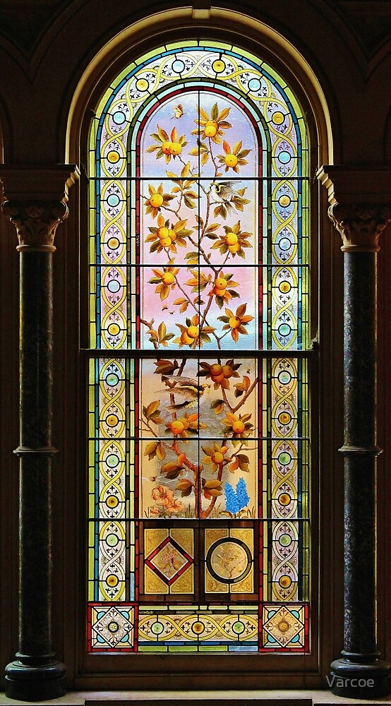 Victorian Stained Glass. by Jeanette Varcoe.