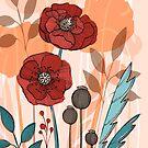 Poppy Fields by mariabogade