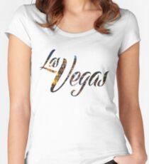 Las Vegas Women's Fitted Scoop T-Shirt