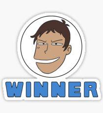 Pegatina Lance Winner lol