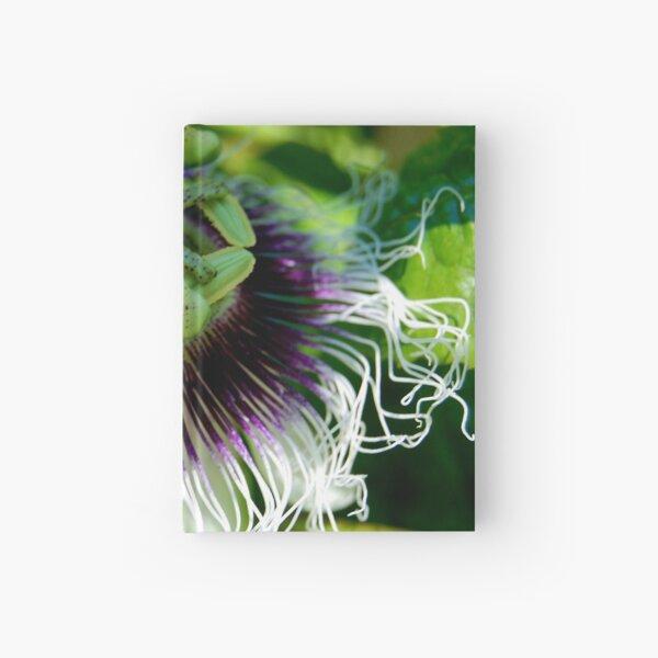 Passionfruit flower Hardcover Journal