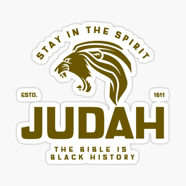 The Bible is Black History Sticker