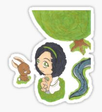 Chibi Arya Sticker