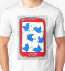I Tweet Therefore I Am Unisex T-Shirt
