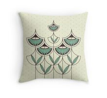 Blooming Winter 2 Throw Pillow