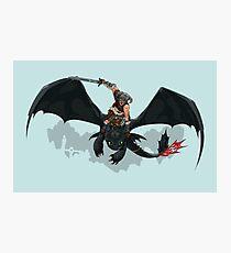 Dragon Rider Photographic Print