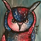 Rather Aggressive Owl by JoeJoeT