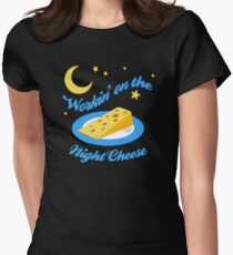 Night Cheese Women's Fitted T-Shirt