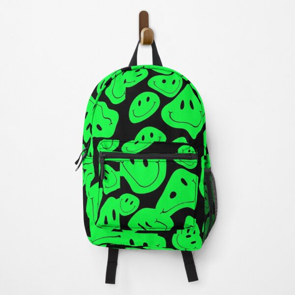 Drippy Melting Smiley Backpack