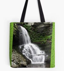 Misty Waterfall ~ Springtime Fresh Tote Bag