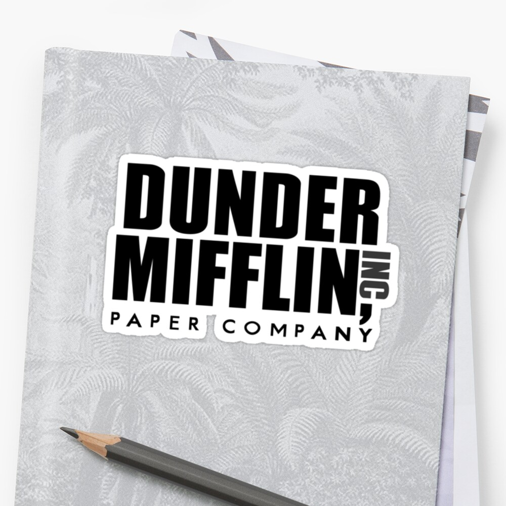 Dunder Mifflin Paper Company by Sarah  Mac Illustration
