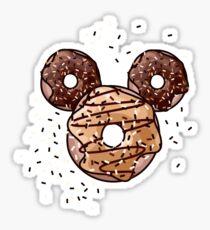 Pop Donut - Carmel & Chocolate Sticker