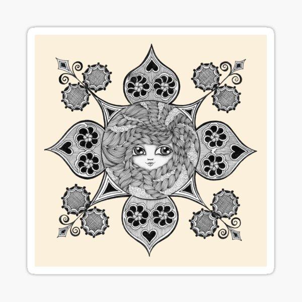 Madame Embrace Sticker