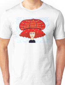 20th Century English Boudoir Hat Unisex T-Shirt