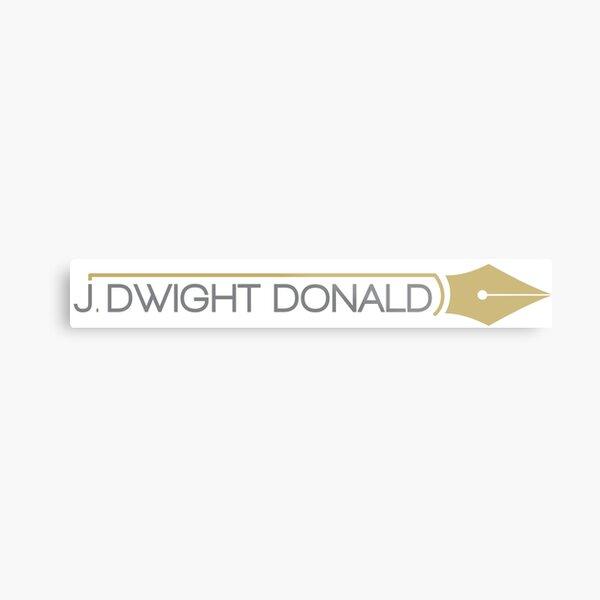 J. Dwight Donald Metal Print