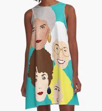 The girls A-Line Dress
