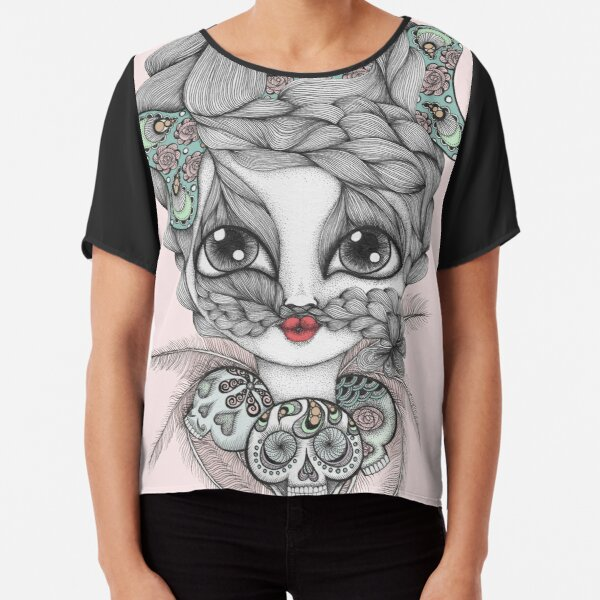 My Friend The Witch Doctor Chiffon Top