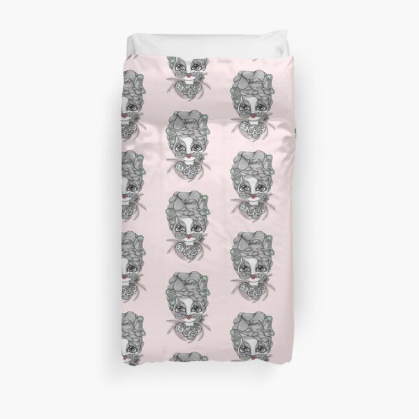 My Friend The Witch Doctor Duvet Cover