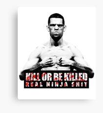 Nate Diaz - Kill or be Killed Canvas Print