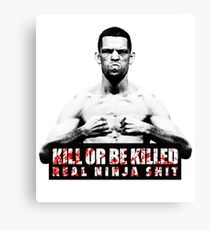 Nate Diaz - Kill or be Killed Canvas Print