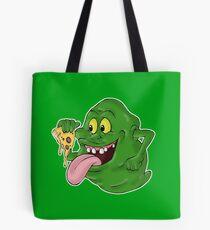 Bolsa de tela Slimer comiendo pizza
