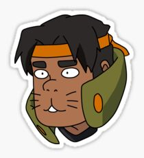 Hunk 'Hunkitty' Garrett Sticker