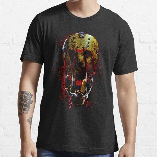 Glove And Mask Freddy vs. Jason  Essential T-Shirt