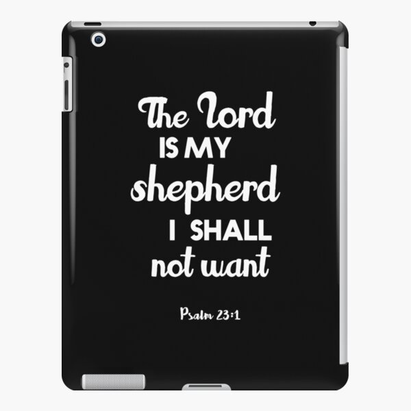 Christian Quote iPad Snap Case