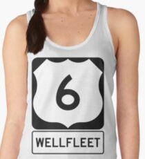 US 6 - Wellfleet Massachusetts Women's Tank Top