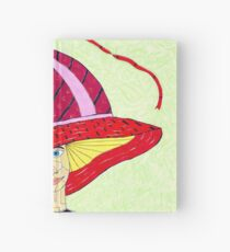 1970's English Summer Hat Hardcover Journal