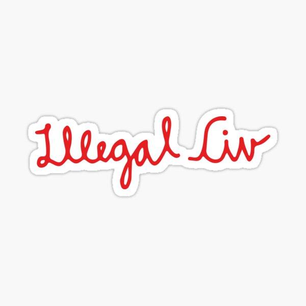Illegal Civ Sticker