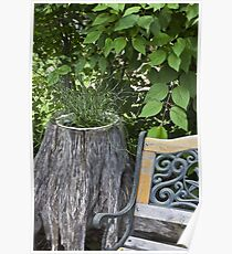 Kinky Grass - Tree Planter  Poster