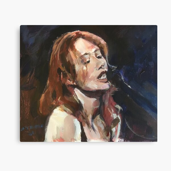 Tori Amos Lost in the Song Canvas Print